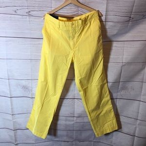 Polo Ralph Lauren Suffield Yellow Chino Pants 34